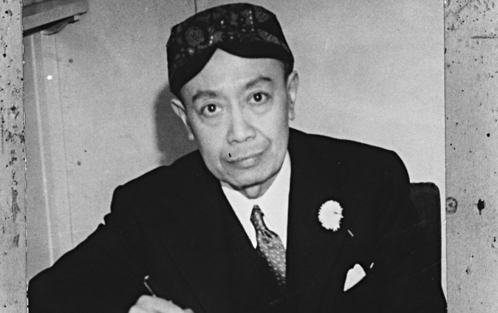 Soejono, enkele dagen voor hij in juni 1942 werd benoemd tot minister in het kabinet-Gerbrandy. (Publiek Domein - Nationaal Archief)