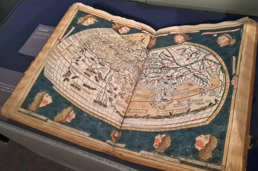 """Ptolemaios' """"Geografie"""" (Gutenbergmuseum, Mainz)"""