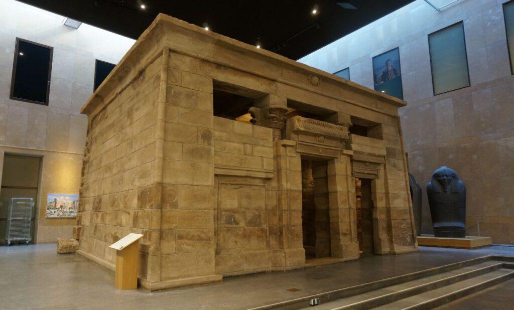 Taffeh-tempel in het Rijksmuseum van Oudheden in Leiden -Foto: Tom Buijtendorp