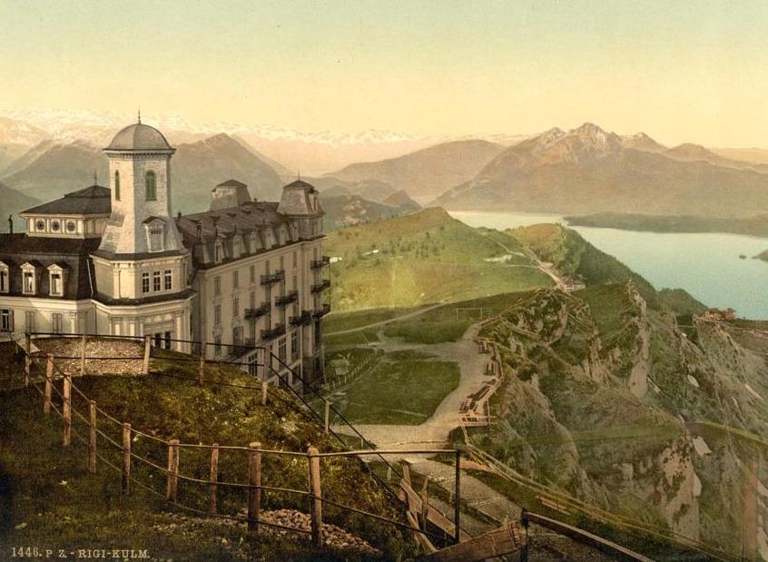 Hotel Rigi-Kulm in Zwitserland