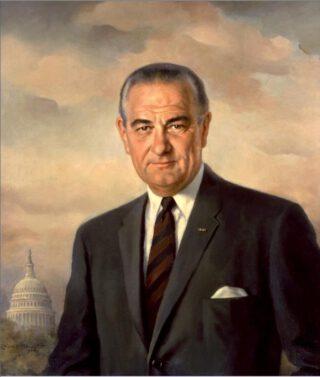 Staatsieportret van Lyndon B. Johnson