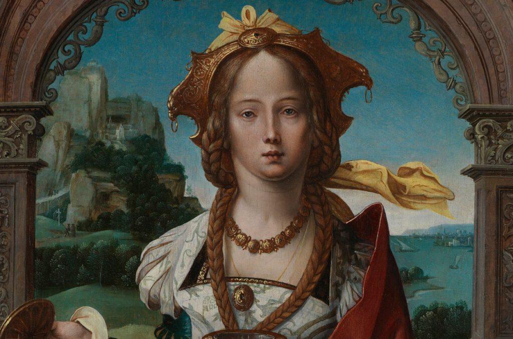The Magdalen, atelier Meester van 1518, vóór 1524, The National Gallery, Londen