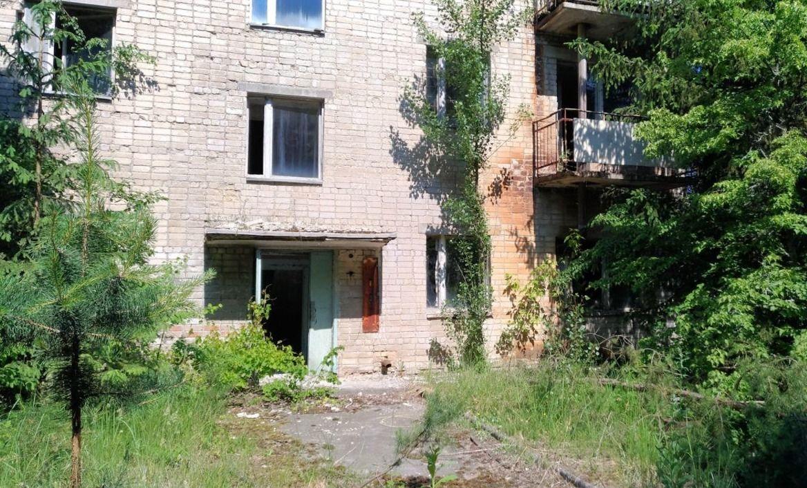 Verlaten appartement waar brandweerman Vasili Ignatenko leefde