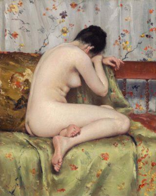 William Merritt Chase, A Modern Magdalene, ca. 1888. Boston, Museum of Fine Arts