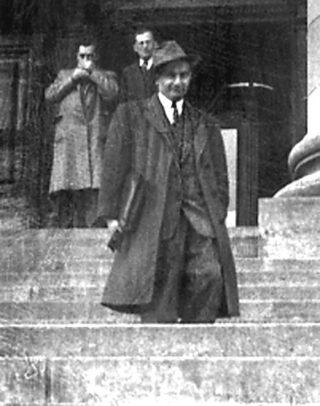 Leopold Flam als leraar, 1952