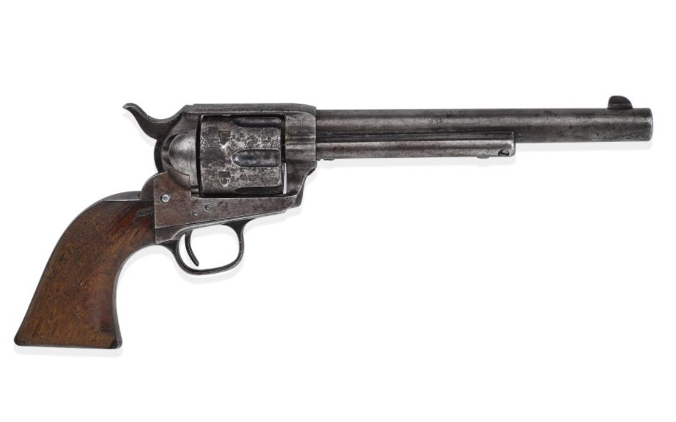 Revolver waarmee Billy the Kid zou zijn gedood