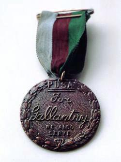 Dickin Medal, voor moedige dieren