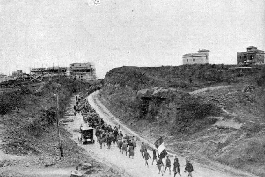 Fascisten onderweg naar Rome