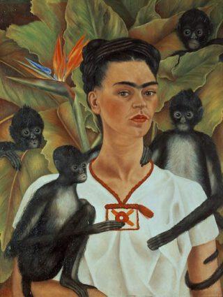 Frida Kahlo Self-Portrait with Braid 1941 Courtesy of The Jacques and Natasha Gelman Collection of 20th Century Mexican Art and The Vergel Foundation/INBAL-Secretaría de Cultura. © 2021 Banco de Mexico Diego Rivera Frida Kahlo Museums Trust, Mexico DF c/o Pictoright Amsterdam 2021