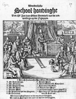 Grotius als landverrader, 1618