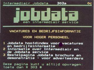 Jobdata in Viditel