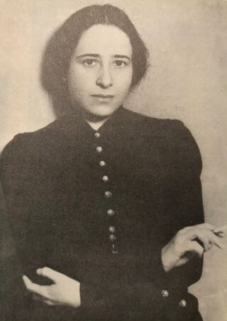 Hannah Arendt in 1933