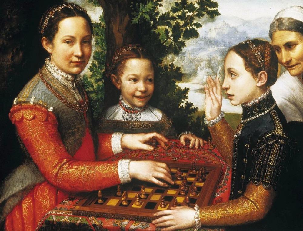 Het schaakspel - Sofonisba Anguissola