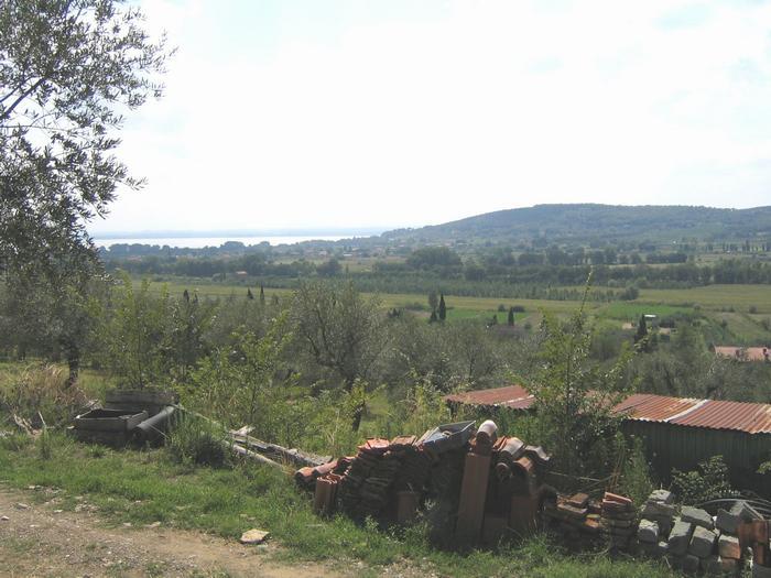 Het slagveld bij het Trasimeense Meer