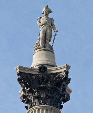 Nelson's Column op Trafalgar Square