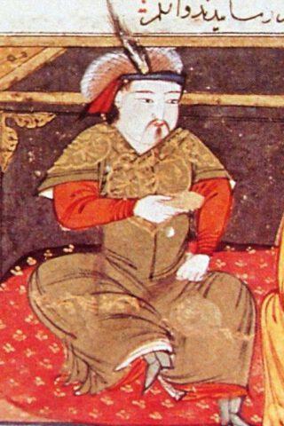 Hülegü - Afbeelding uit de 14e eeuw