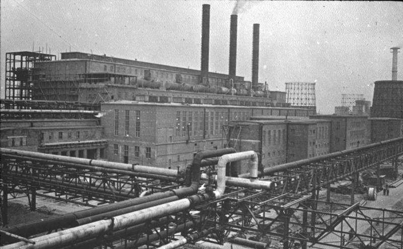 IG Farben fabriek bij Auschwitz