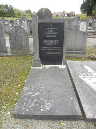 Graf van Maurice Flam, politiek gevangene in Breendonk