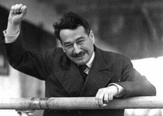 Egon Kisch in Melbourne in 1934