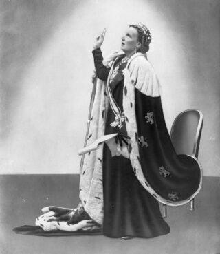 Koningin Juliana in 1948