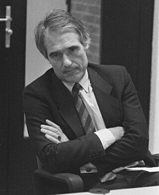 Minister De Korte in 1987