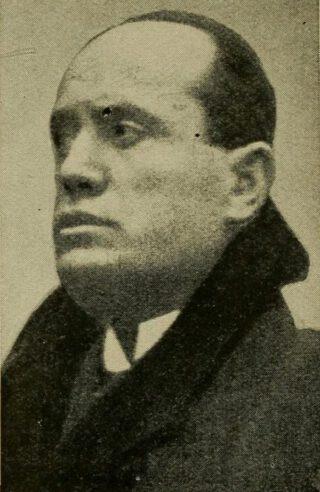 Mussolini in 1922