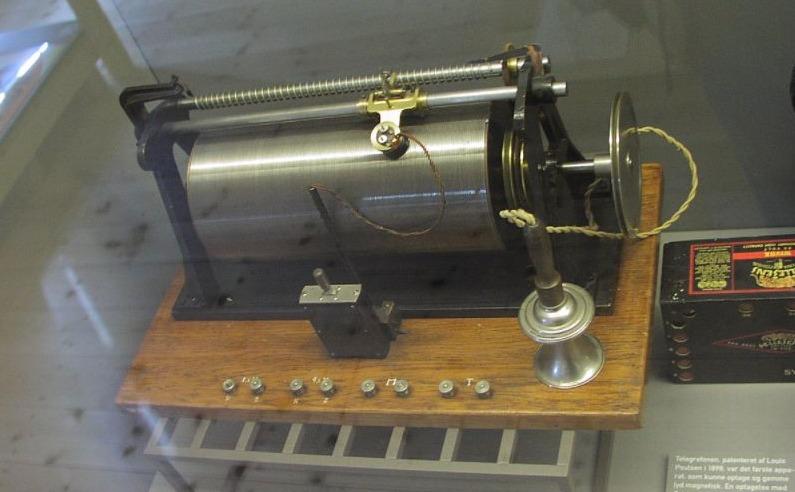 Poulsen's magnetische draadrecorder