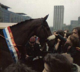 Red Rum in Bristol, 1980