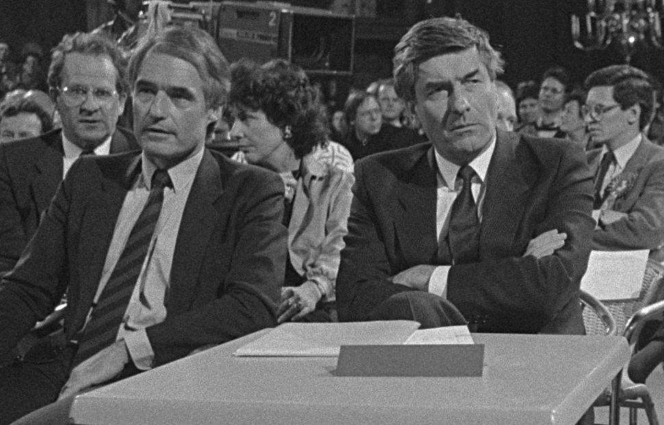Rudolf de Korte en Ruud Lubbers, 1986
