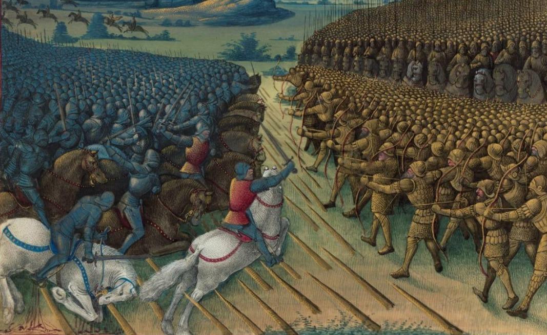 Vijftiende-eeuwnse verbeelding van de Slag bij Nicopolis