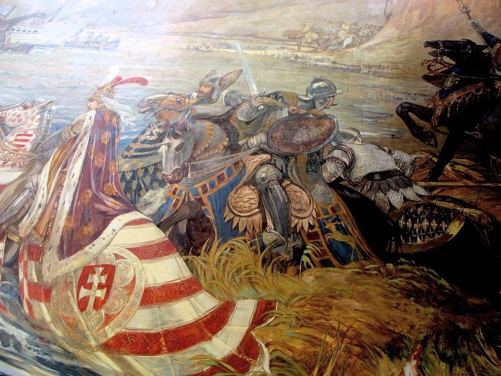 Slag bij Nicopolis - Ferenc Lohr