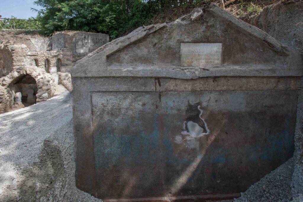 De tombe van Marcus Venerius Secundio