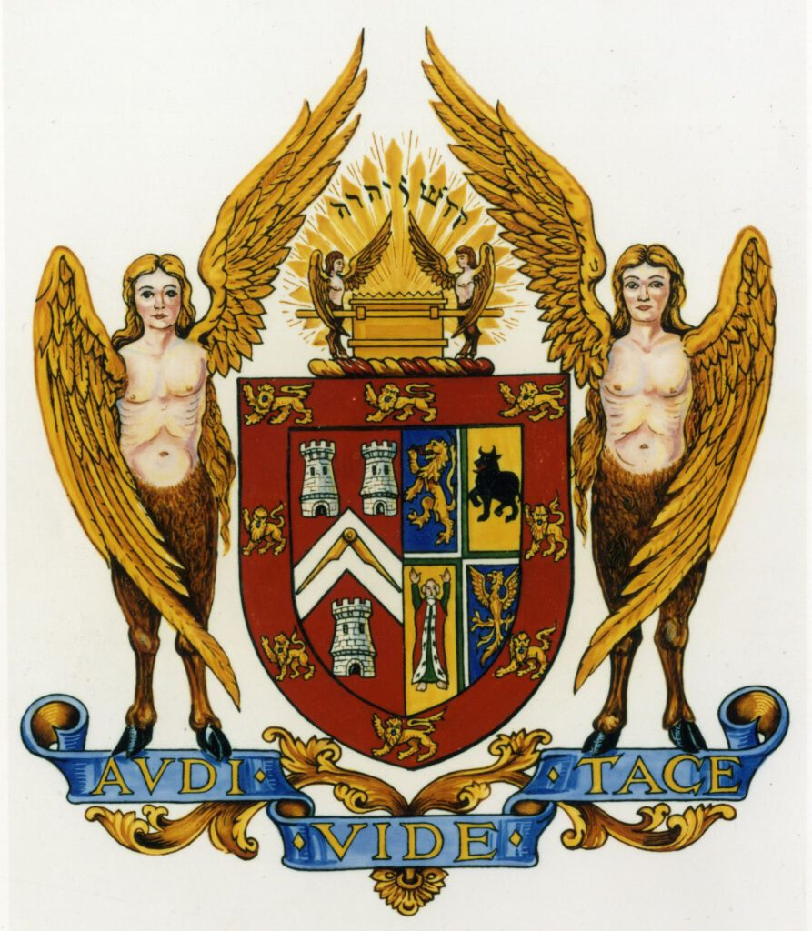 Coat of Arms of the United Grand Lodge of England ©Museum of Freemasonry, London