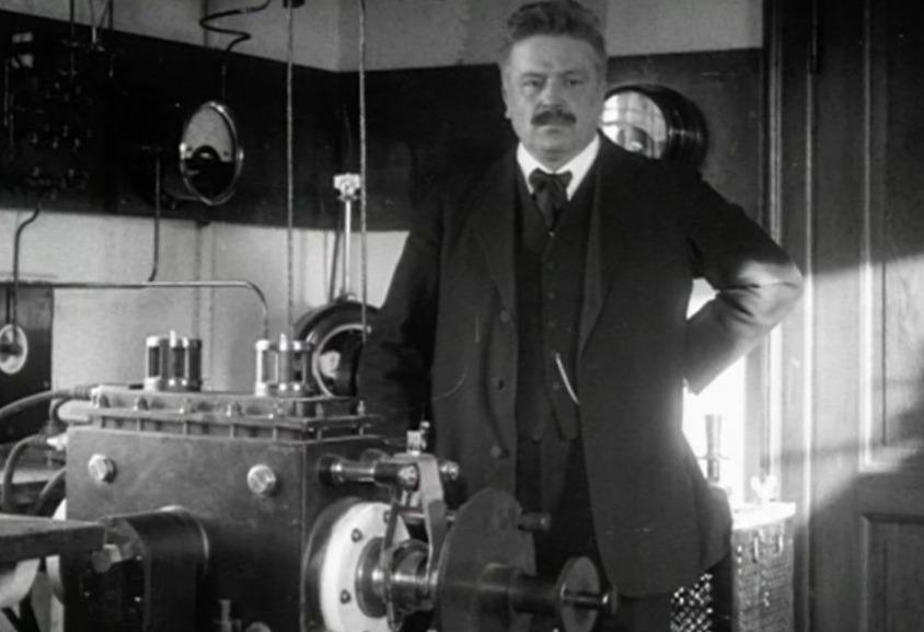 De Deense uitvinder Valdemar Poulsen