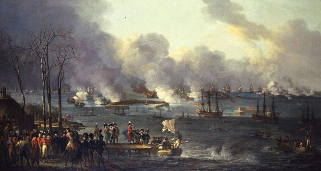Zeeslag bij Kopenhagen (1801) - Christian August Lorentzen