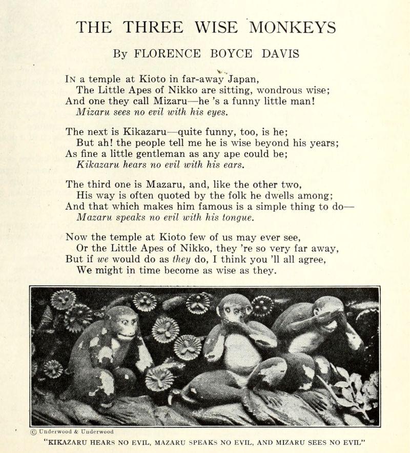 St. Nicholas. An Illustrated Magazine for Boys and Girls (XLIX, no 6, april 1922, p. 579), een wijdverbreid Amerikaans jeugdmagazine.