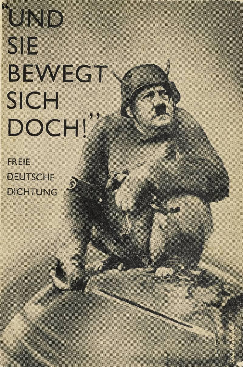 Anti-nazistische fotomontage van John Heartfield