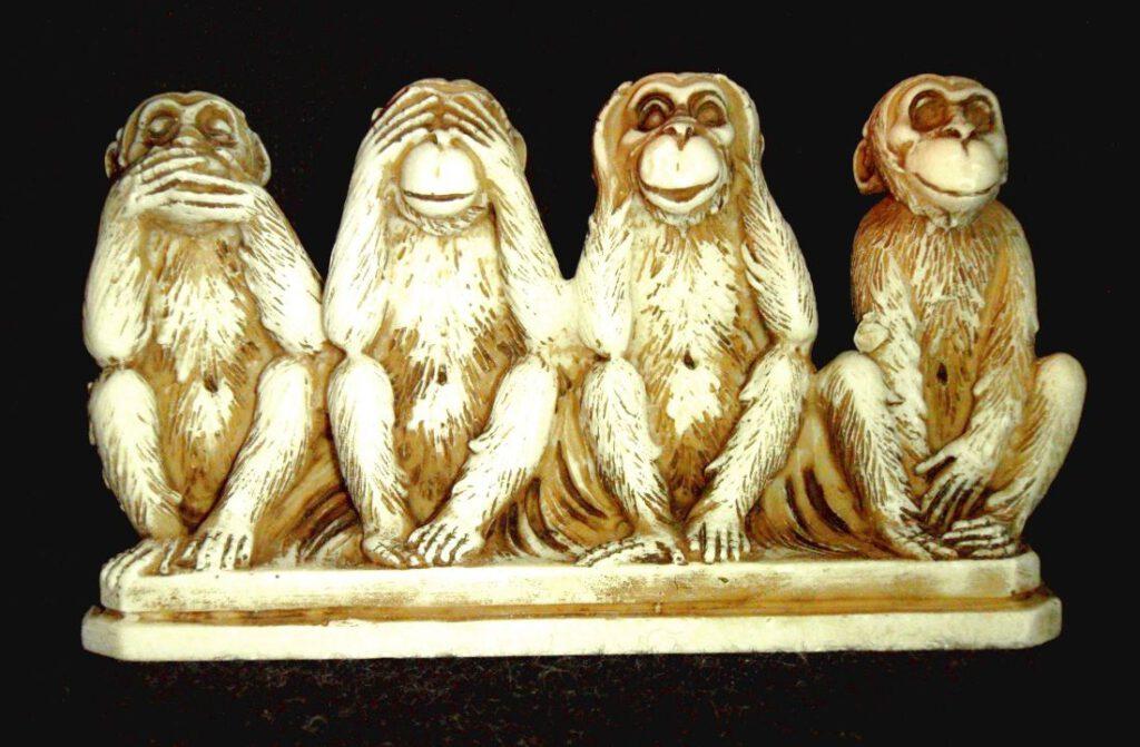 Een vierde aapje