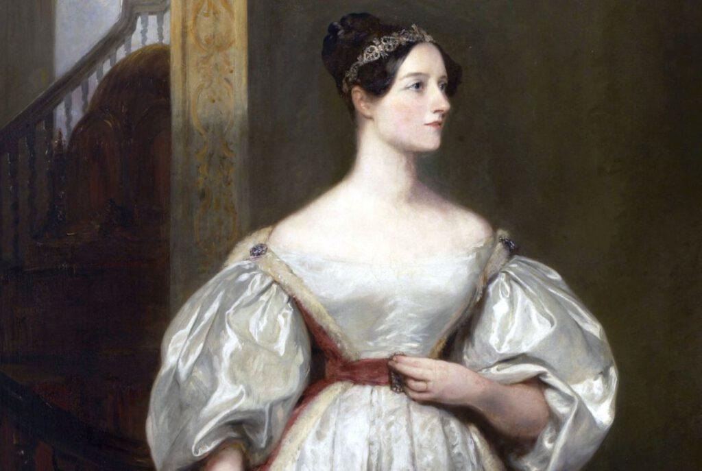 Ada Lovelace door Margaret Carpenter (1793-1872), 1836