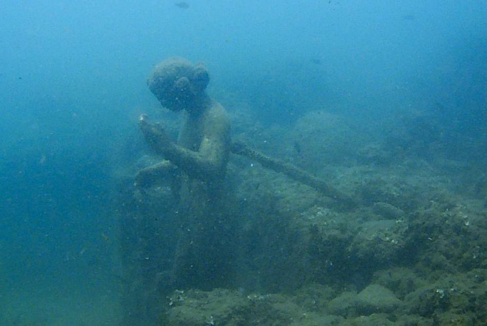 Baiae, onderwaterbeeld