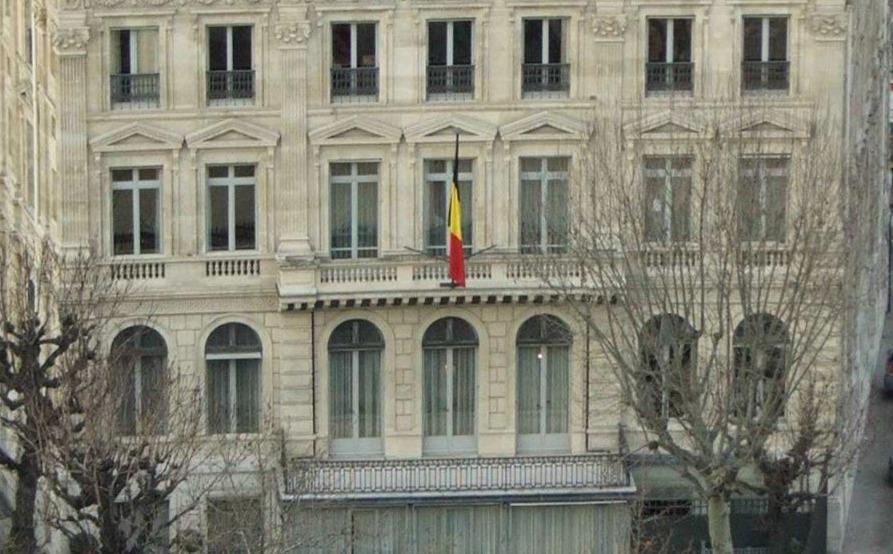 Belgische ambassade in Parijs