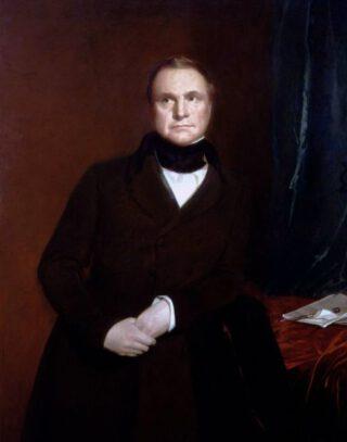 Charles Babbage door Samuel Laurence