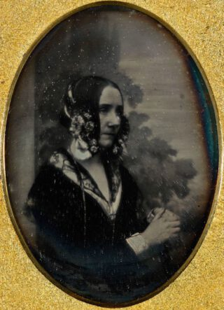 Ada Lovelace in circa 1843 - Daguerreotype van Antoine Claudet