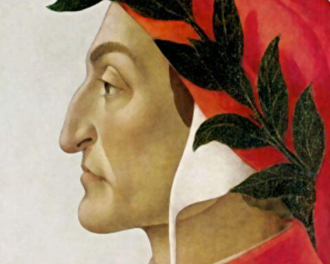 Portret van Dante - Sandro Botticelli, 1495