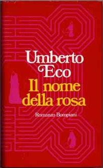 Eerste Italiaanse uitgave van 'In de Naam van de Roos'