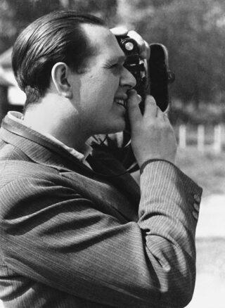 Een foto van Fred Stein, genomen door zijn vrouw Lilo - Parijs, 1937