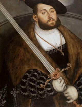 Keurvorst Johan Friedrich van Saksen