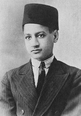 Nasser in 1931