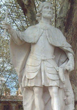 Standbeeld van Ordonõ I, koning van Asturië