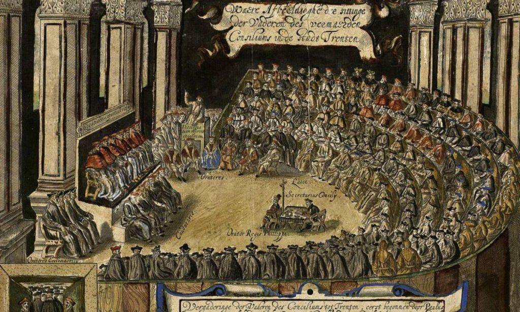 Sessie van het Concilie van Trente - Matthias Burgleichner